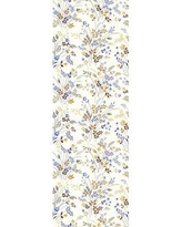 """Ophelia & Co. Tomball Removable Nursery Vintage Field Flower 6.25' L x 25"""" W Peel and Stick Wallpaper Roll W000349160"""
