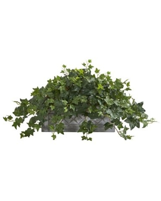 Nearly Natural Artificial Puff Ivy Plant in Planter