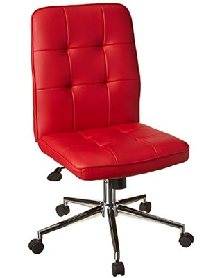 Can T Miss Bargains On Boss Office Products Mellennial Modern Home Office Chair Without Arms In Red