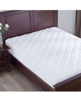 Puredown Top Alternative Mattress Pad Four-Leaf Clover Quilted Twin