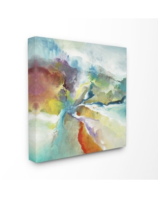 Stupell Industries Abstract Color Landscape Painting Canvas Wall Art by Third and Wall