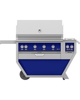 Hestan 60'' Grill with Double Burners, 3 Trellis Burners, 1 Sear Burner & 1 Rotisserie, Prince