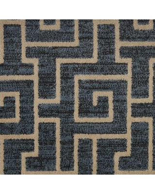 Amazing Sales On Natural Harmony 6 In X 6 In Pattern Carpet Sample Labyrinth Color Twilight