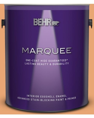 BEHR MARQUEE 1 gal. #M230-5 Sweet Curry Eggshell Enamel Interior Paint & Primer