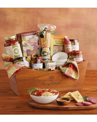 Italian Inspirations Gift Basket by Harry & David - Mother's Day Gifts - Gourmet Gifts for