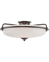 Quoizel Griffin Extra Large Bronze Floating Ceiling Light