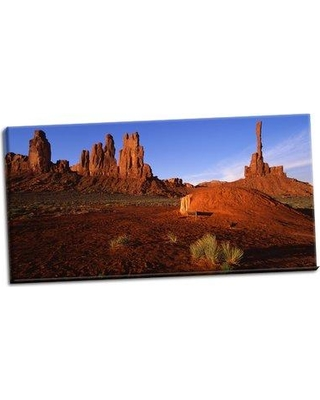 Millwood Pines 'Monument Valley I' Photographic Print on Wrapped Canvas BI053178