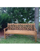 Remarkable Deals On Angela Garden Bench Rosecliff Heights Size 71 W X 26 D