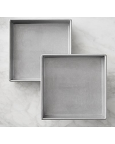 "Williams Sonoma Traditionaltouch Square Cake Pan, 9"",Set of 2"