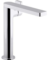 Kohler Composed® Single-Handle Bathroom Faucet with Drain Assembly k-73168-4-CP / k-73168-4-TT Finish: Polished Chrome