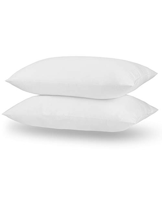 """Acanva Bed Pillows 2 Pack Hotel Collection Luxury Soft Inserts for Sleeping-Breathable and Comfortable for Stomach Back Sleepers, Queen 20"""" x 30"""", White"""