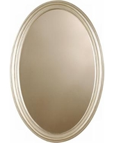 "Uttermost Franklin Oval 32"" High Wall Mirror"