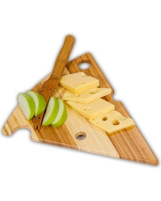 Picnic Plus by Spectrum Wedge 2 Piece Cheese Board and Platter Set PSM-179