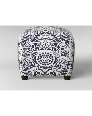 Can T Miss Deals On Poppy Ottoman Navy White Floral