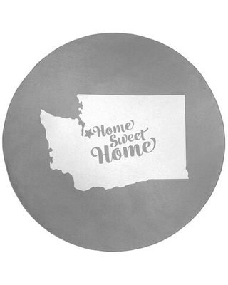 Home Sweet Seattle Poly Chenille Rug East Urban Home