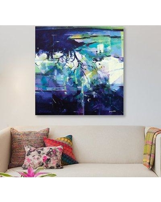 """East Urban Home 'Reflections in the Field after the Rain' Acrylic Painting Print on Wrapped Canvas ERNI7760 Size: 26"""" H x 26"""" W x 1.5"""" D"""