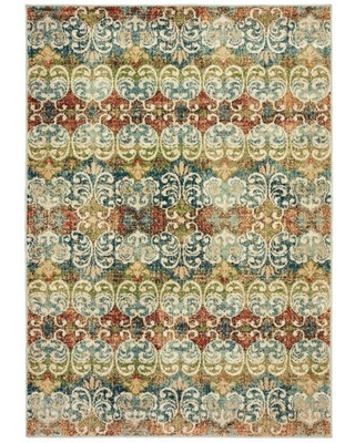 Avalon Home Danica Faded Floral Area Rug or Runner, Multiple Sizes
