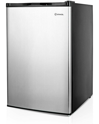 GZMR 3 cu.ft. Compact Upright Freezer with Stainless Steel Door   HYCC-23796-LC