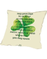"""The Holiday Aisle Brett Wilson St. Patrick's Day Throw Pillow HLDY1144 Size: 18"""" H x 18"""" W x 2"""" D"""