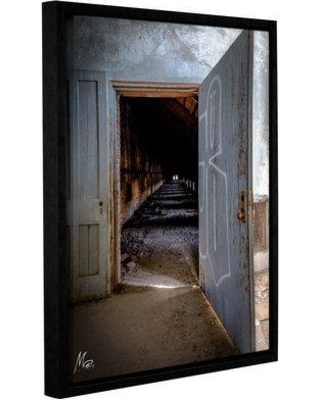 """Williston Forge 'Do Not Enter' Framed Photographic Print on Canvas WLFR3072 Size: 18"""" H x 14"""" W x 2"""" D"""