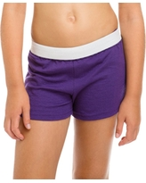 Soffe Girls' Cheer Shorts, Size: Large, Purple