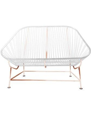 Innit InLove Loveseat 14-04- Color: White/Copper