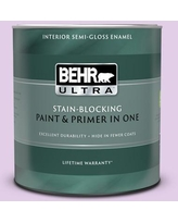 Special Prices On Behr Ultra 1 Qt P100 2 Sweet Romance Extra Durable Satin Enamel Interior Paint Primer