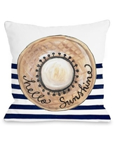 Deals For Netto Hello Sunshine Wool Throw Pillow Wrought Studio