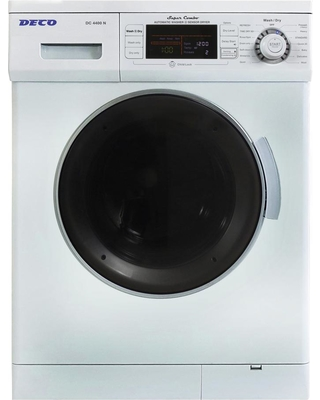 Deco 1.57 cu. ft. White High -Efficiency Vented / Ventless Electric All-in-One Washer Dryer Combo