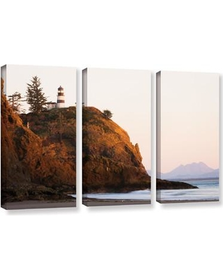 ArtWall Lighthouse by Cody York 3 Piece Photographic Print on Wrapped Canvas Set 0yor044c3654w