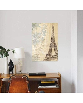 """East Urban Home 'Architectural Study II' Graphic Art Print on Canvas ETRC3605 Size: 26"""" H x 18"""" W x 1.5"""" D"""