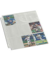 Sports Card Storage Pages