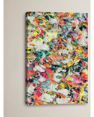 """Brayden Studio Untitled 24 by Mark Lovejoy Painting Print on Wrapped Canvas BRSD3188 Size: 18"""" H x 12"""" W x 0.75"""" D"""