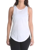 Vimmia Women's Pacific Pintuck Cowl Back Tank Top - Large - White