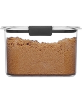 Rubbermaid Brilliance Pantry Airtight Food Storage Container, BPA-Free Plastic, 7.8 Cup