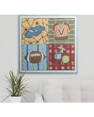 "Great Big Canvas 'Hanging out I' Megan Meagher Painting Print 1138098_1_ Size: 20"" H x 20"" W x 1.5"" D Format: Canvas"