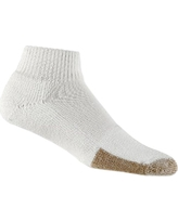 Thor-Lo Original Low Cut Tennis Padded Socks, Size: Large, White