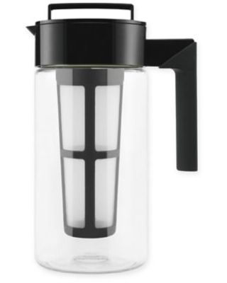 Takeya 1 qt. Flash Chill Iced Tea Maker in Black