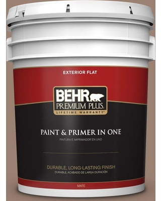 N190 5 Frontier Brown Flat Exterior Paint And