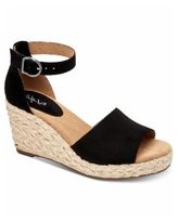 Style & Co Seleeney Wedge Sandals, Created for Macy's - Black