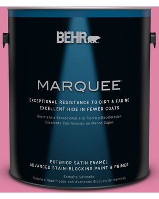 BEHR MARQUEE 1 gal. Home Decorators Collection #HDC-MD-10A Sweet Chrysanthemum Exterior Satin Enamel Paint & Primer