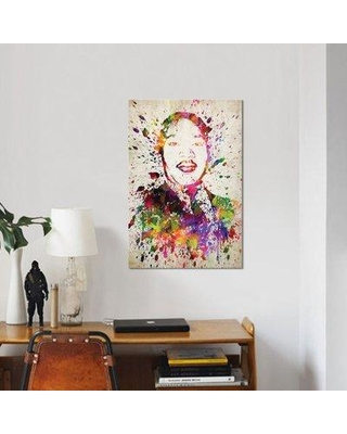 "East Urban Home 'Martin Luther King' Graphic Art Print on Canvas ERBR0234 Size: 40"" H x 26"" W x 0.75"" D"