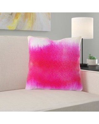 Ebern Designs Balsam Watercolor Throw Pillow X111149759 Cover Material: Synthetic Location: Outdoor