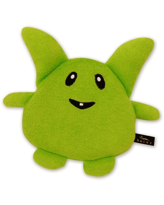 Bucky Woopsie Green Arble Hot/Cold Therapy Travel Pillow