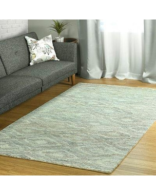 Bungalow Rose Christofferso Hand-Tufted Wool Beige Area Rug W001369892 Rug Size: Rectangle 5' x 7'9""