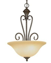 Great Prices For Millwood Pines Leisha 3 Light Single Bowl Pendant Glass In Bronze Oil Rubbed Bronze Size Medium 12 16 Wide Wayfair