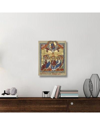 """East Urban Home 'Pentecost' Acrylic Painting Print on Canvas ETUC6663 Size: 28"""" H x 22"""" W x 1.5"""" D"""