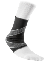 McDavid Level 2 Ankle Sleeve/4-Way Elastic with Gel Buttresses