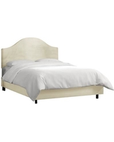 Alcott Hill Bloomfield Upholstered Panel Bed ALCT2124 Size: Twin, Color: Smoke