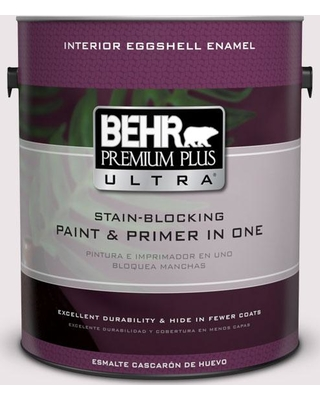 BEHR Premium Plus Ultra 1 gal. #690E-1 Shell Brook Eggshell Enamel Interior Paint and Primer in One